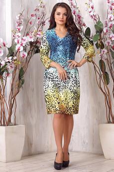 Платье с леопардовым принтом Liora